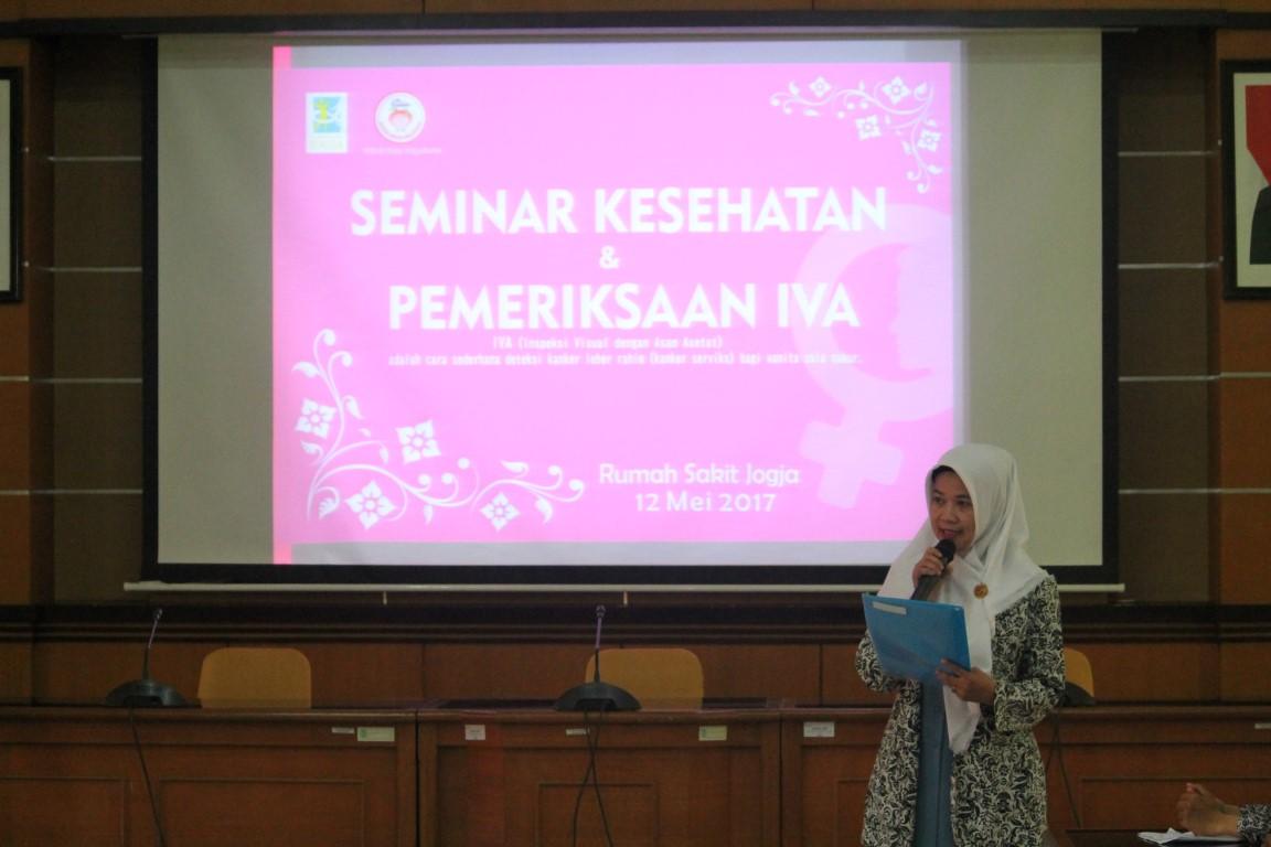 Seminar Kesehatan dan pemeriksaan IVA