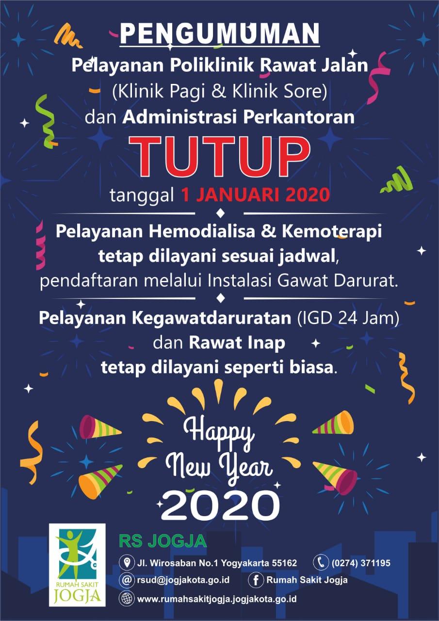 Libur Tahun Baru 2020 Rumah Sakit Jogja