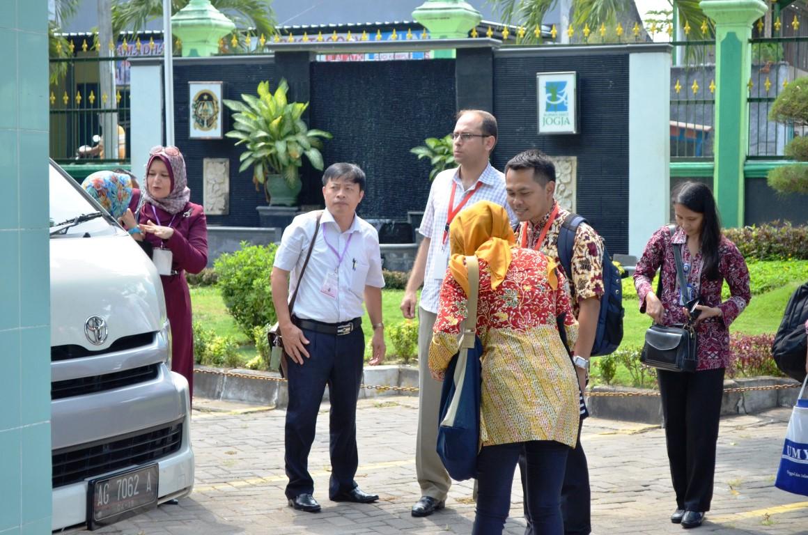 Kunjungan Peserta Third Country Training Program (TCTP)