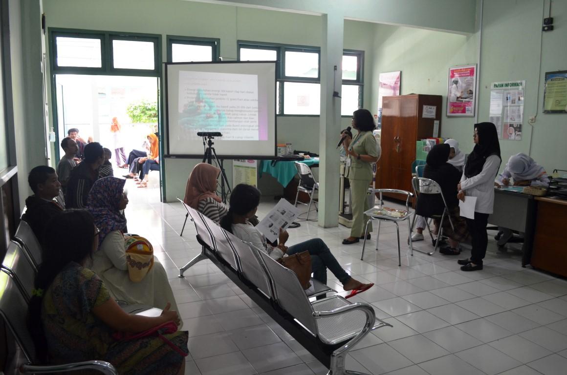 Kegiatan Tim PKRS Rumah Sakit Jogja Tentang Kesehatan Ibu Hamil