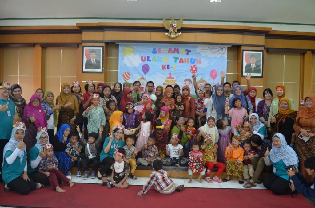 Ulang Tahun Forum Anak Hebat Di RS Jogja