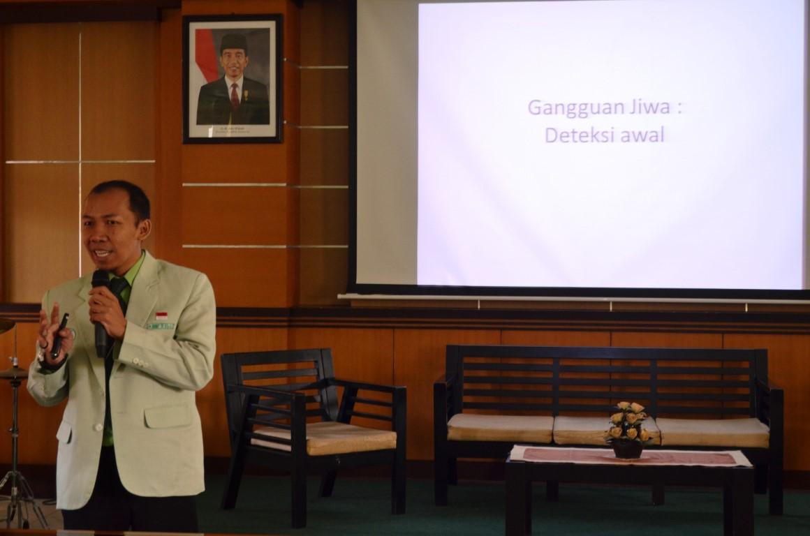 """Seminar """"Deteksi Gangguan Jiwa dan Manajemen di Tingkat Puskesmas"""" Rumah Sakit Jogja 30 Maret 2017"""