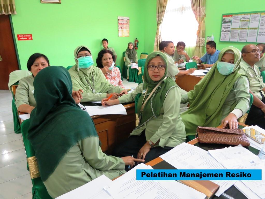 Pelatihan Manajemen Resiko di Rumah Sakit Jogja